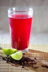Agua de Jamaica - Hibiscus Cooler